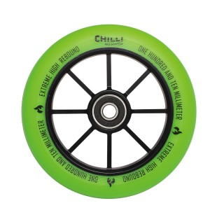 Obrázek Chilli kolečko Base 110 mm zelené