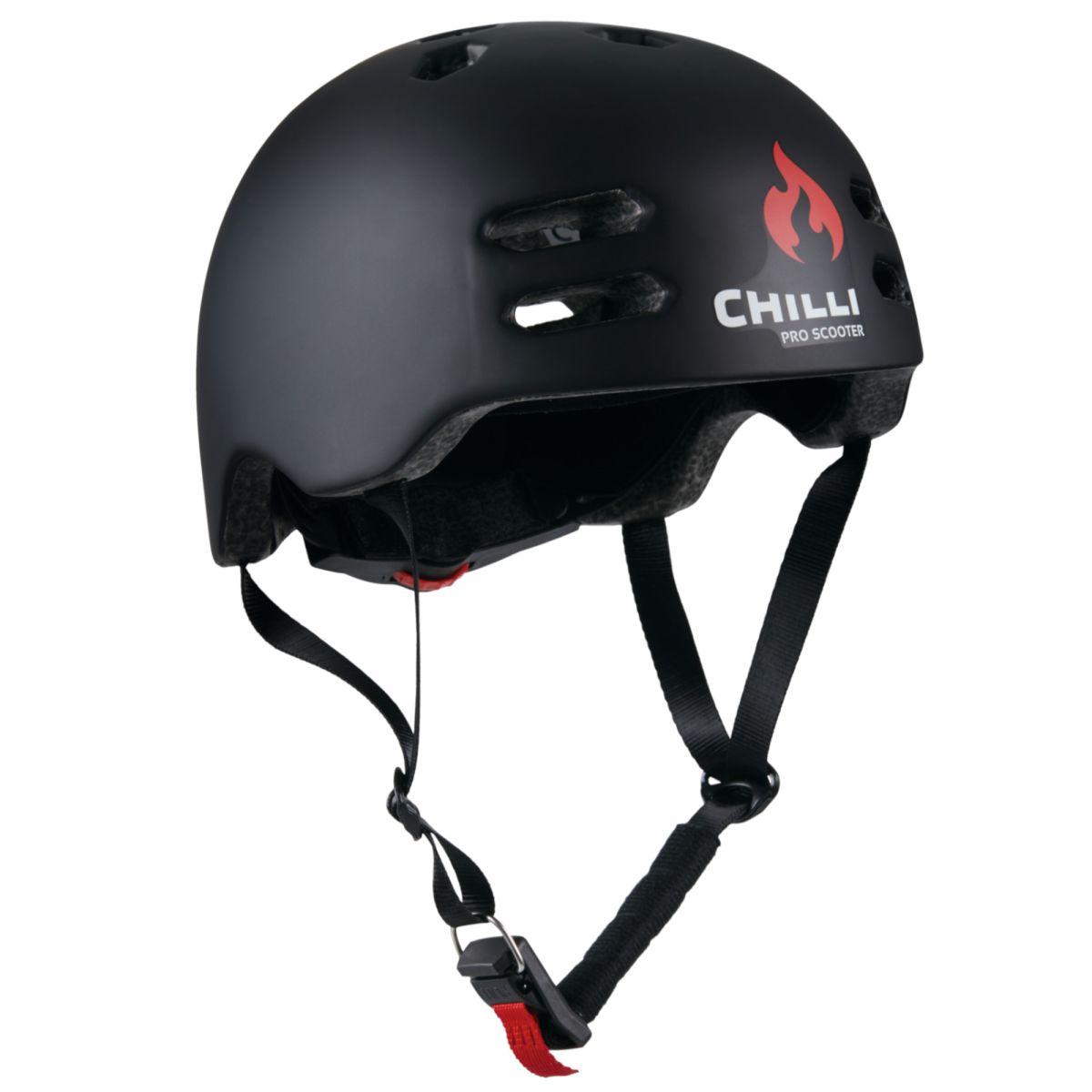 Obrázek Chilli helma Inmold černá L (58-61 cm)