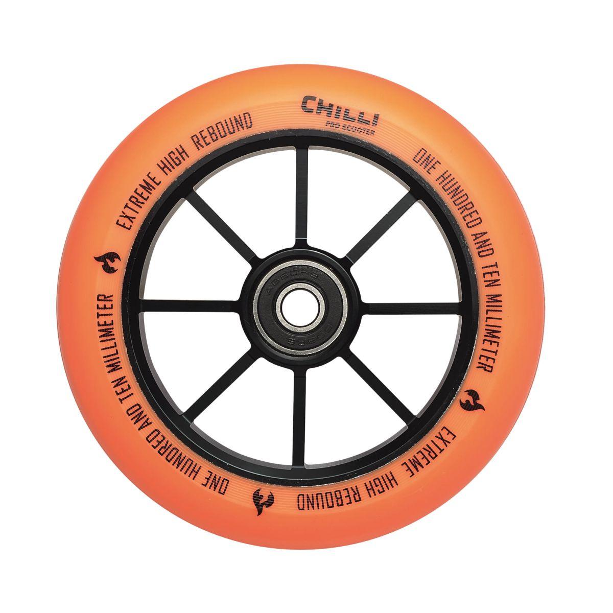 Chilli kolečko Base 110 mm oranžové