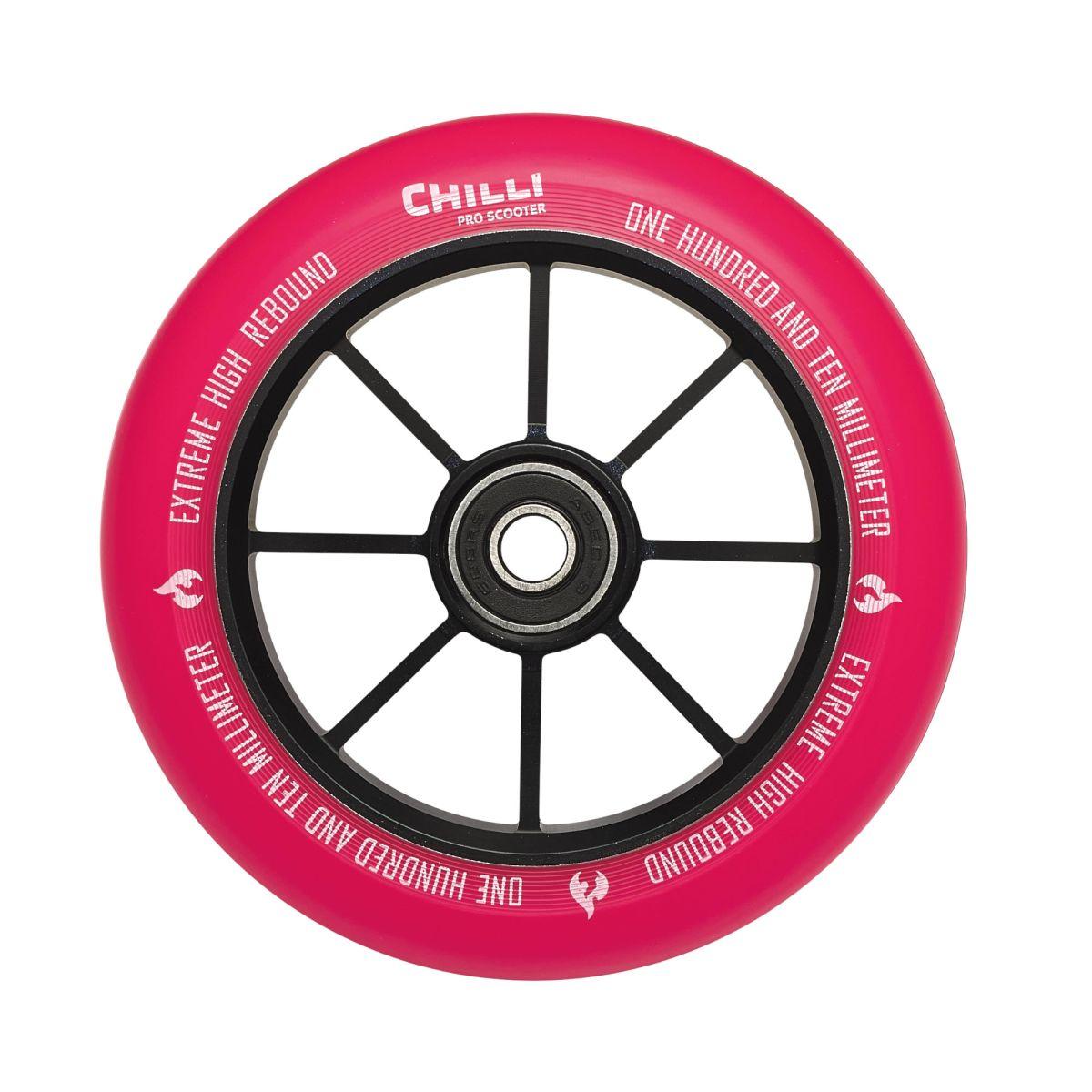 Chilli kolečko Base 110 mm růžové