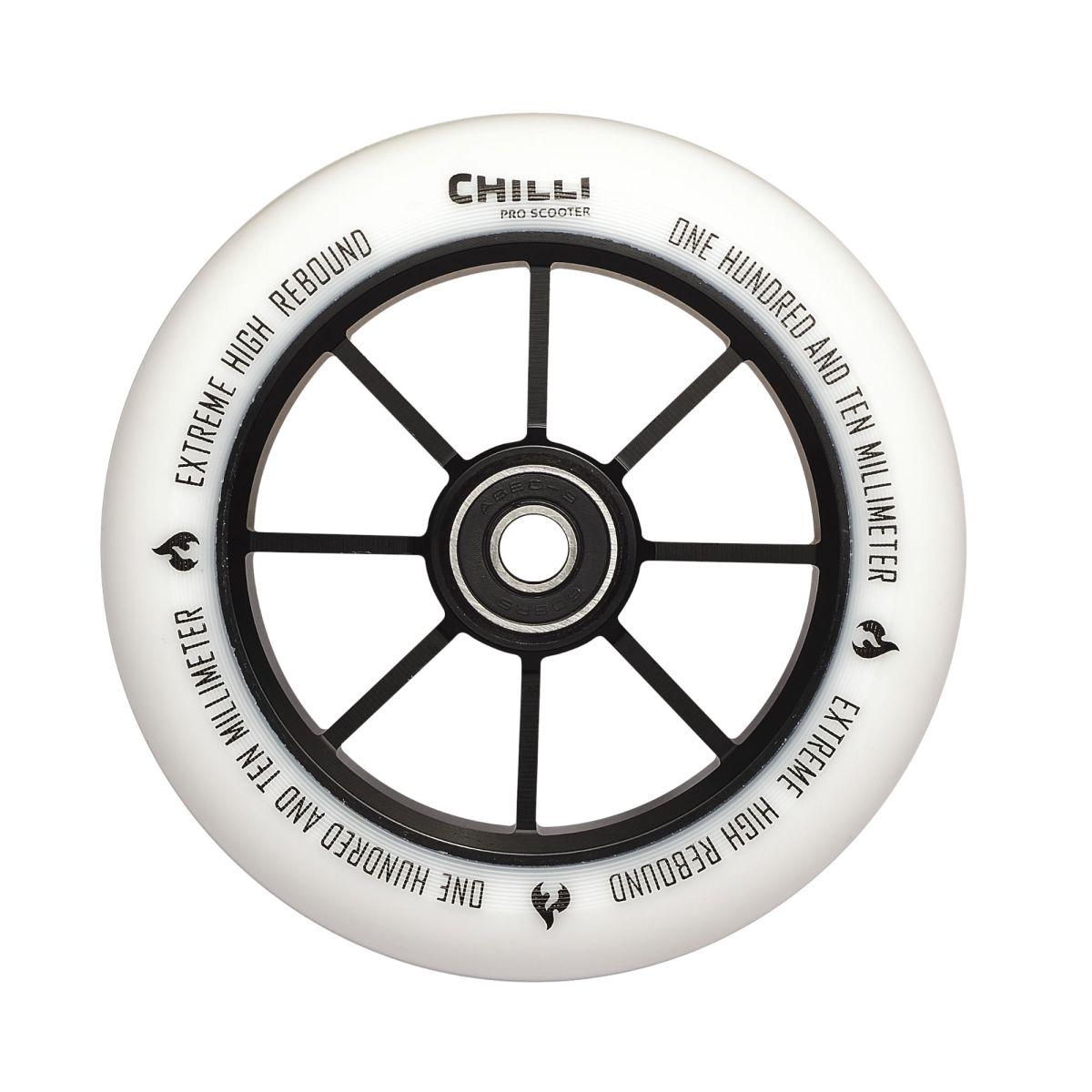 Chilli kolečko Base 110 mm bílé